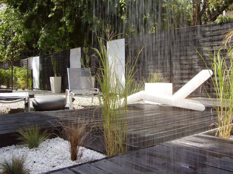 amenagement jardin lumiere