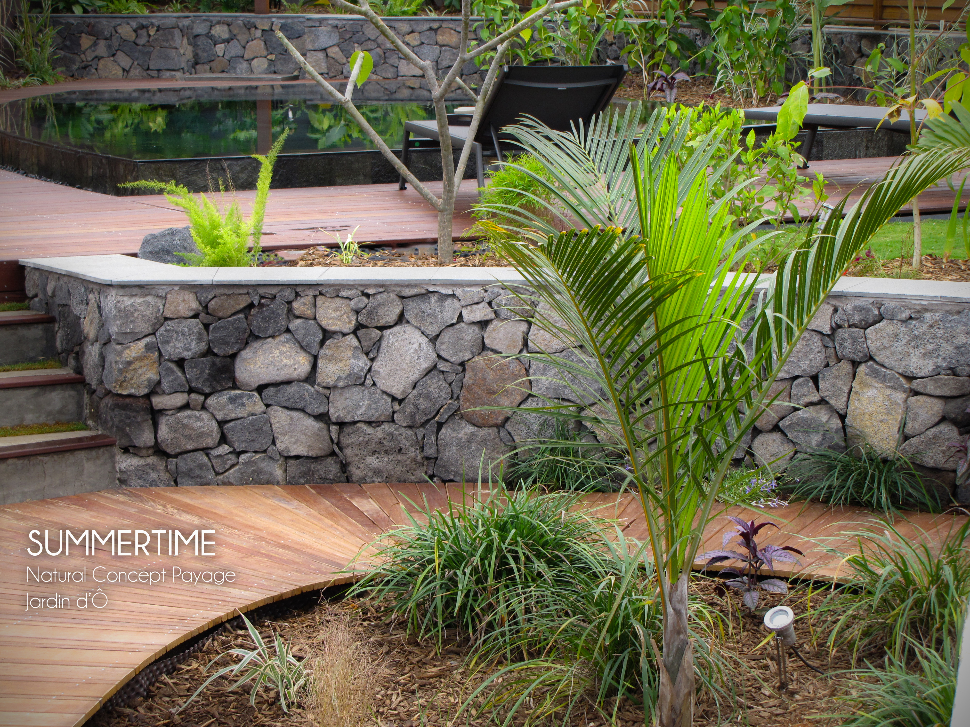 Amenagement jardin 974 - Creation jardin ...