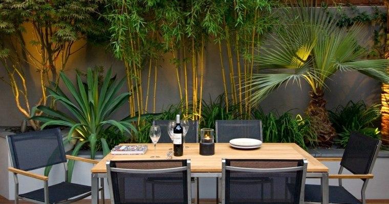 amenagement jardin avec bambou