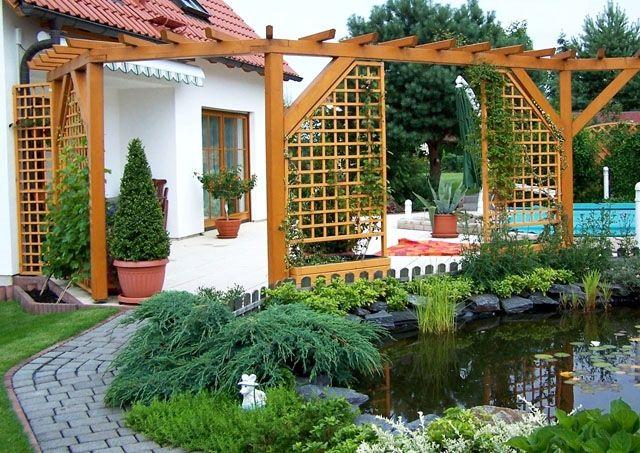 amenagement jardin avec pergola