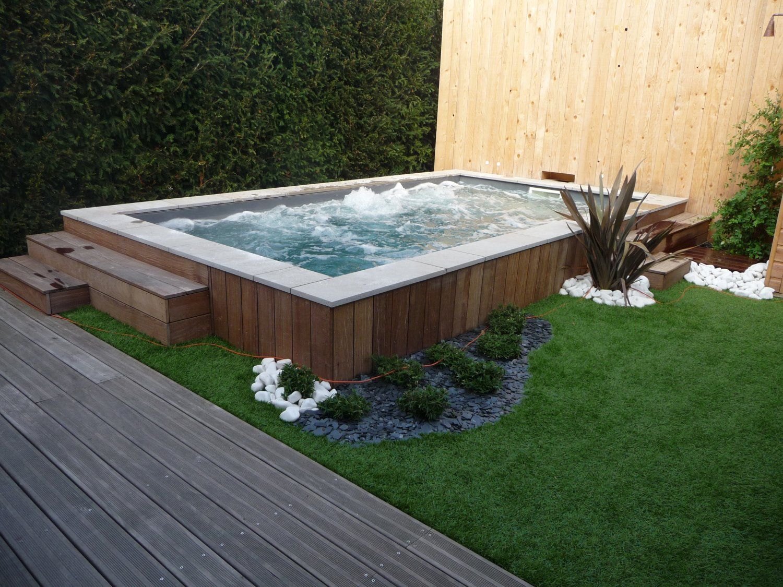 Amenagement Jardin Avec Piscine Bois