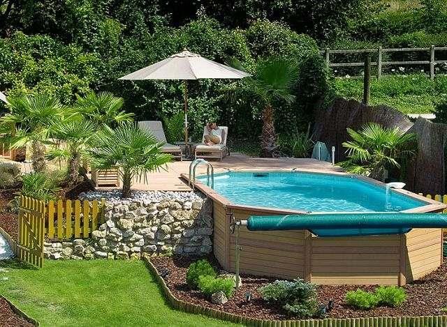 amenagement jardin avec piscine hors sol