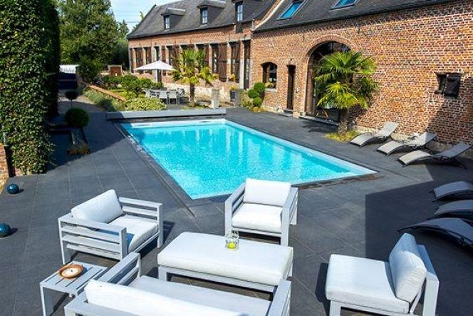 amenagement jardin avec piscine