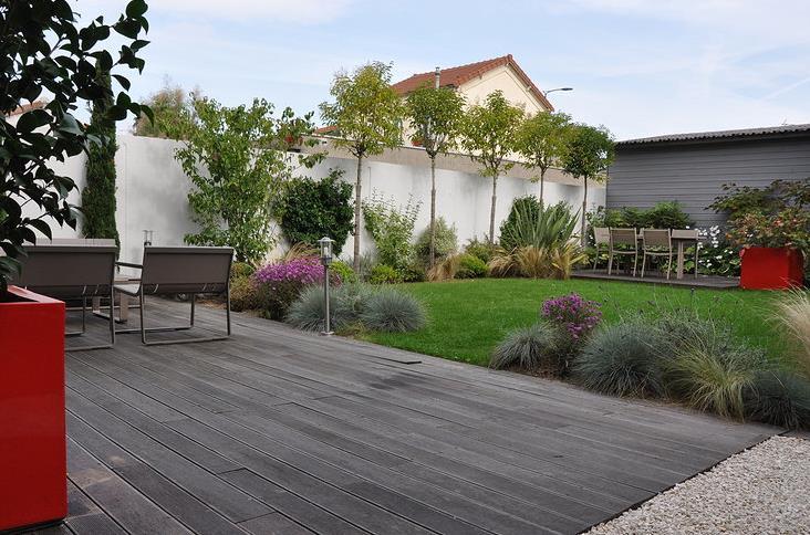amenagement jardin avec terrasse