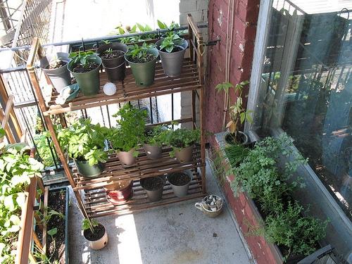 amenagement jardin balcon