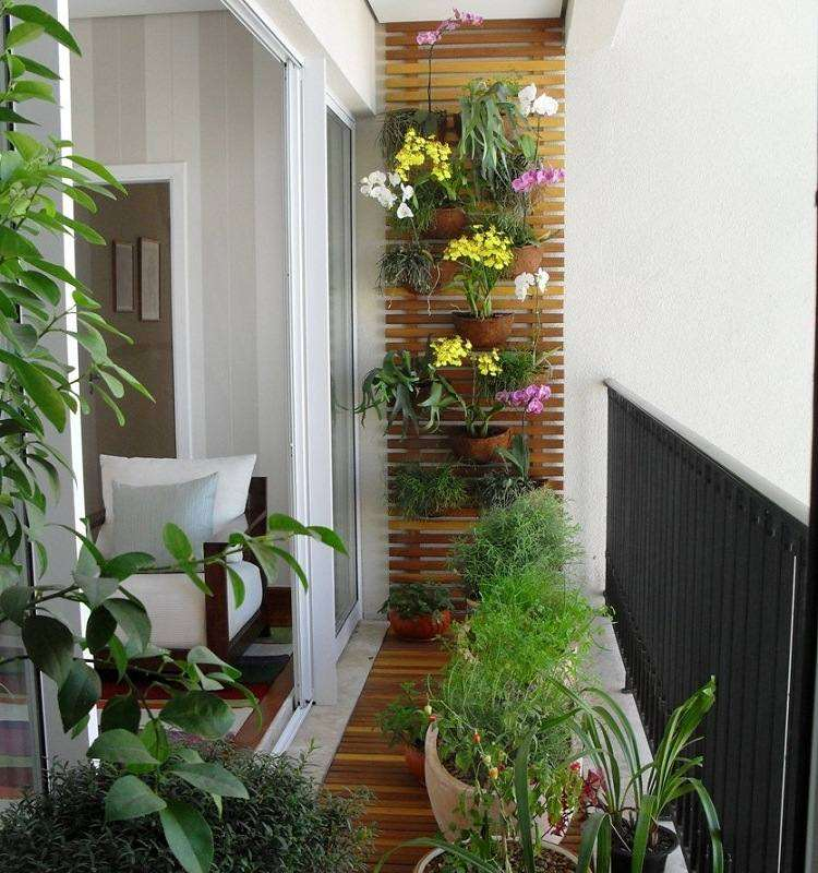 amenagement jardin balcon