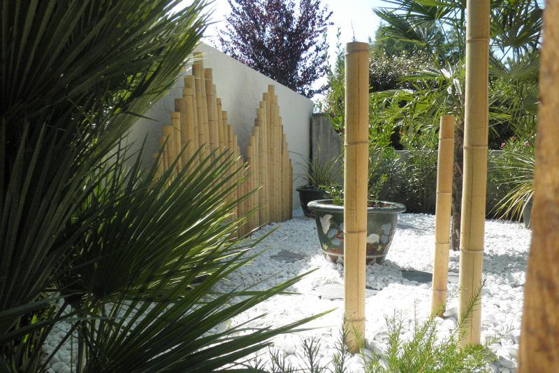 amenagement jardin bambou