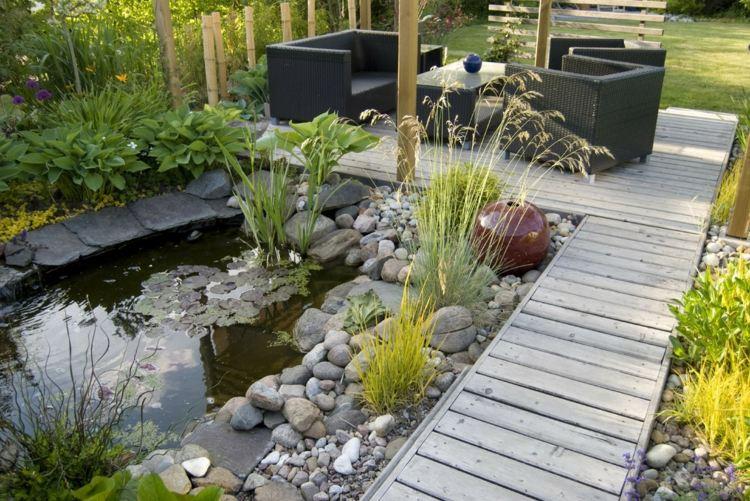 amenagement jardin bassin