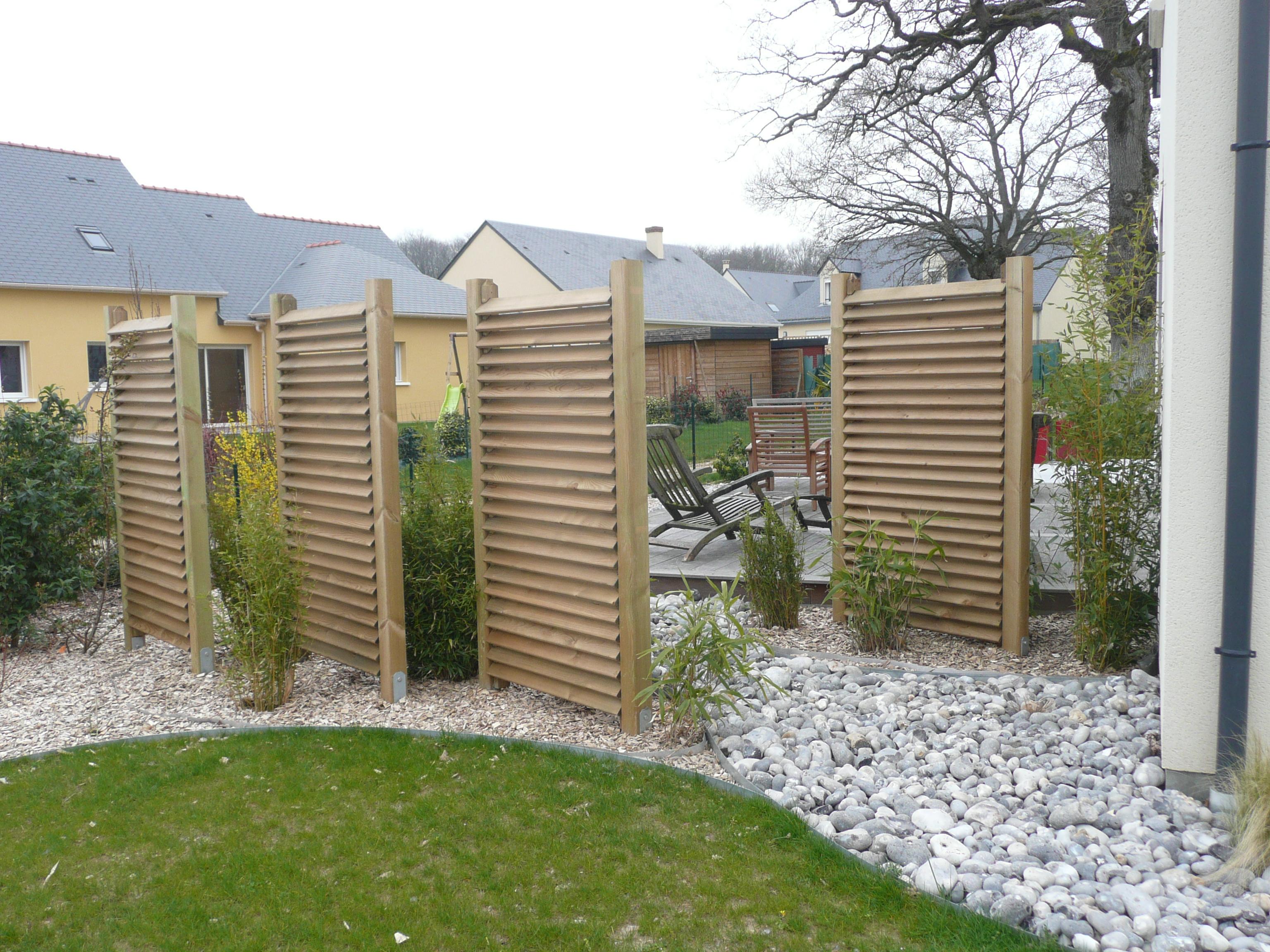 amenagement jardin brise vue. Black Bedroom Furniture Sets. Home Design Ideas