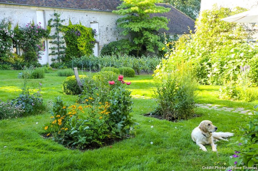 amenagement jardin bucolique