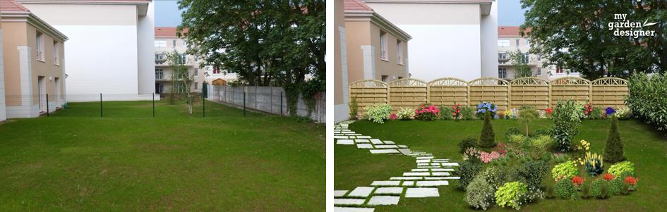 Amenagement Jardin Cacher Vis A Vis