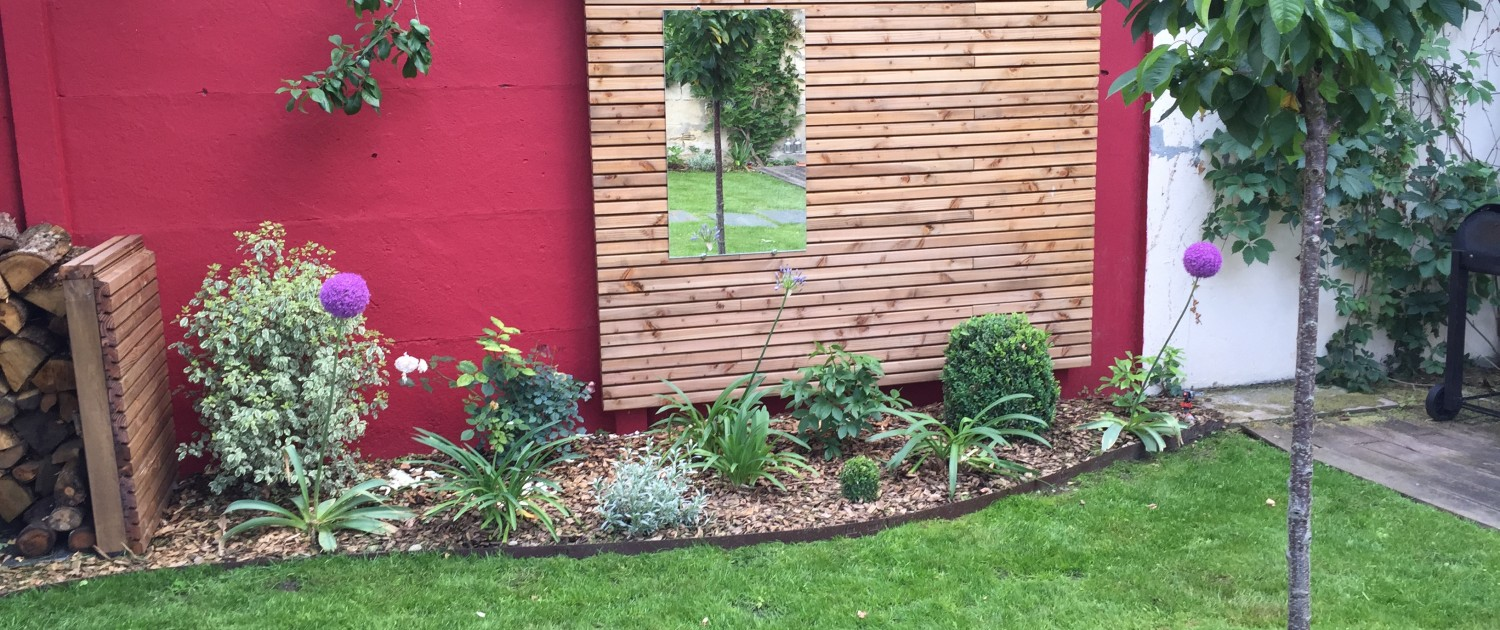 Amenagement Jardin Contre Mur
