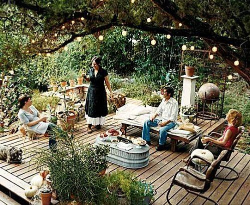 amenagement jardin cosy