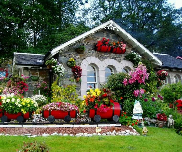amenagement jardin de fleurs