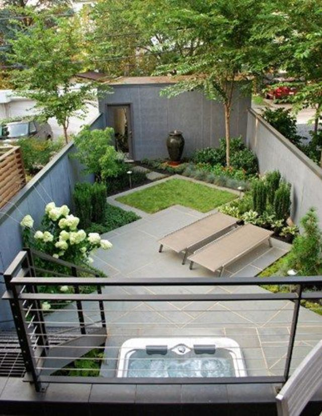 amenagement jardin de ville