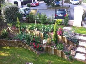 amenagement jardin denivele