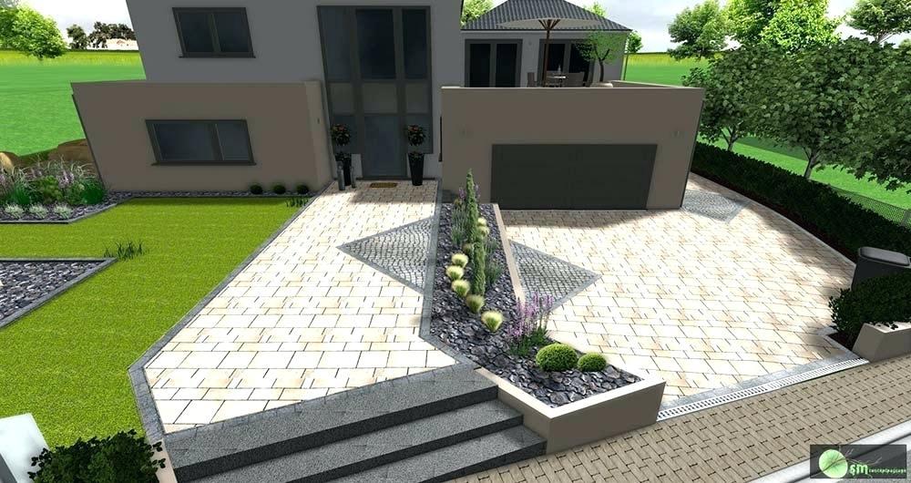 Amenagement jardin devant une maison - Amenagement paysager devant maison ...