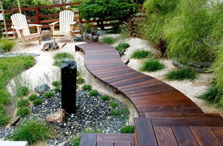 amenagement jardin en bois
