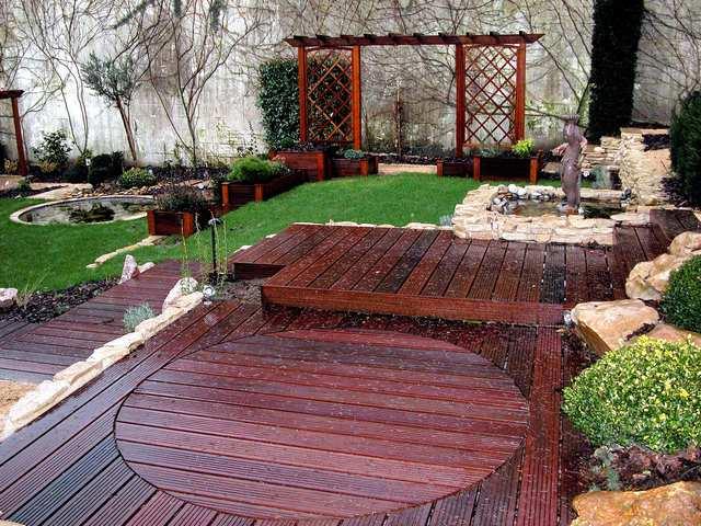 Amenagement jardin en bois - Amenagement jardin bois ...