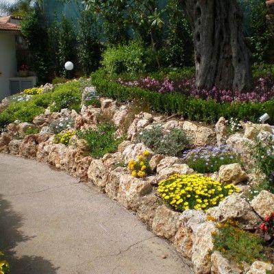 amenagement jardin enrochement