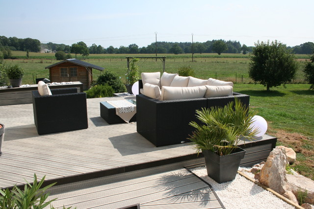 Aménagement terrasse et jardin photo - absarl