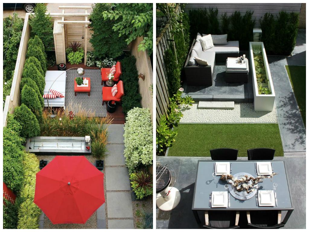 Amenagement jardin etroit - Jardin petit espace ...