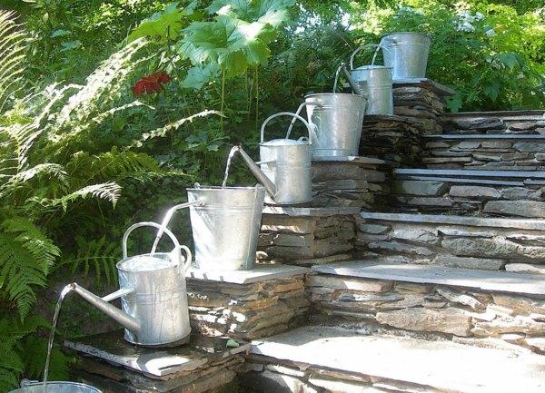 amenagement jardin fontaine