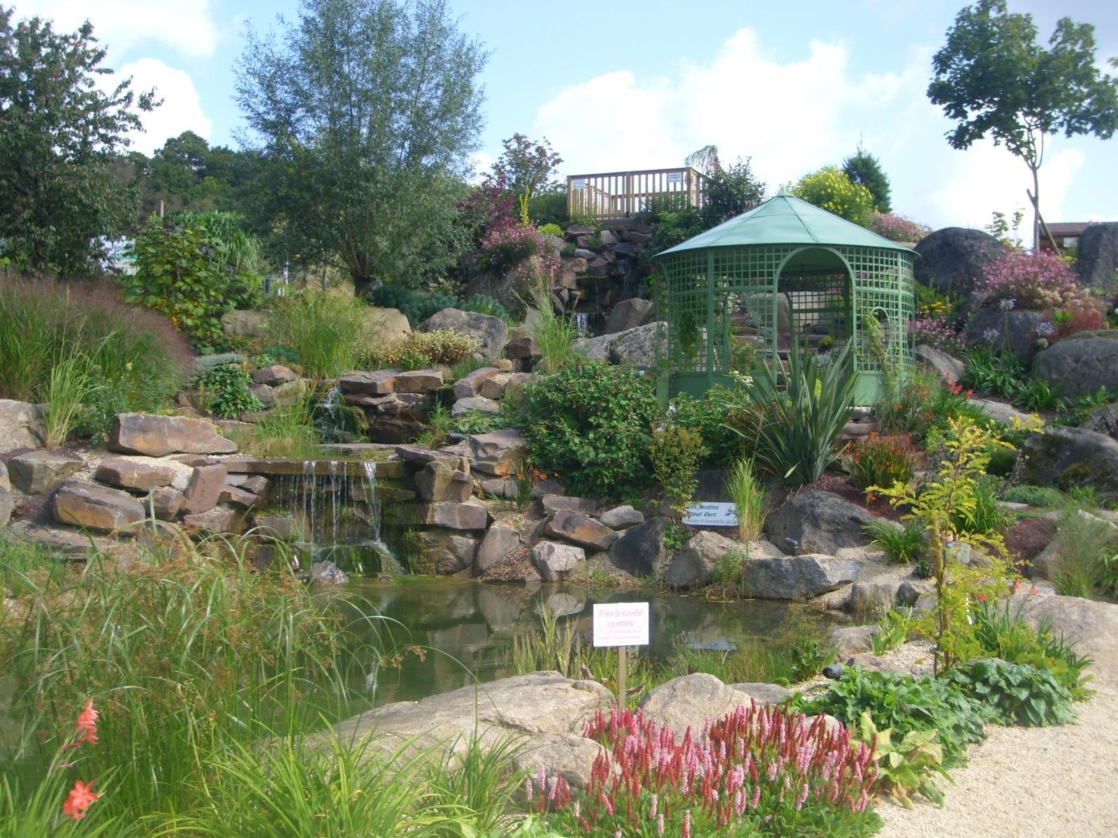 amenagement jardin gloriette
