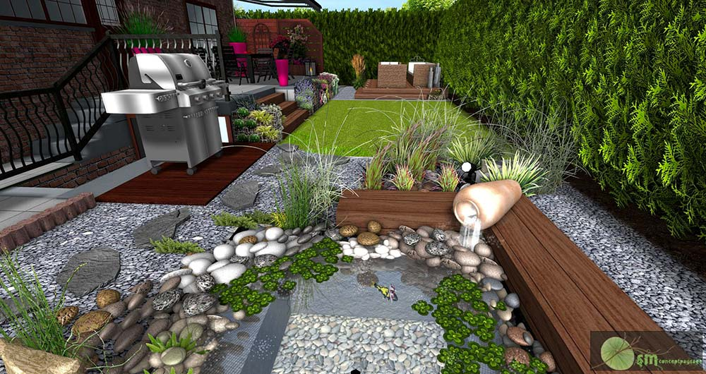 Awesome Gravier Jardin En Gros Photos House Design Marcomilone Com