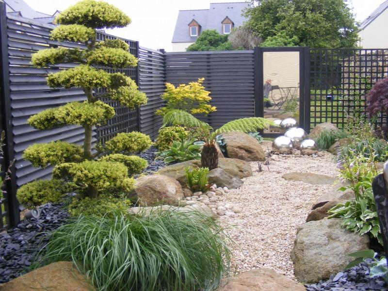 amenagement jardin japonisant