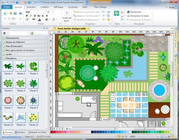Amenagement jardin logiciel gratuit - Amenager son jardin en ligne ...