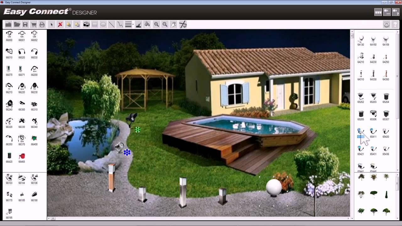 Amenagement jardin logiciel - Conception jardin 3d gratuit ...