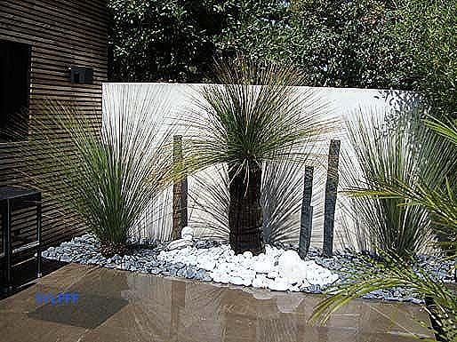 amenagement jardin maison contemporaine