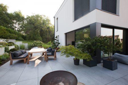 amenagement jardin maison neuve. Black Bedroom Furniture Sets. Home Design Ideas