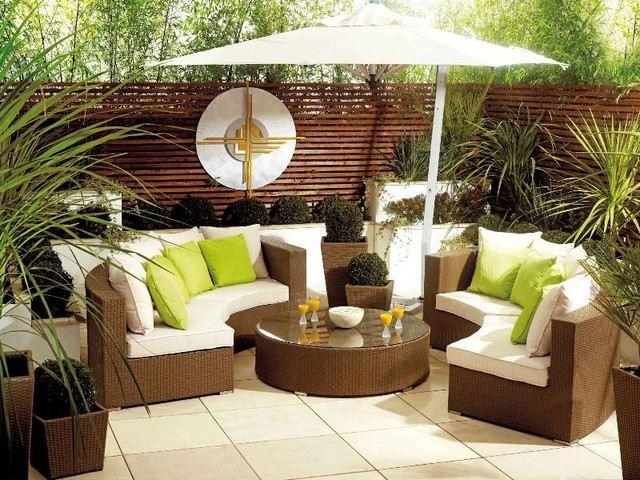 amenagement jardin mobilier