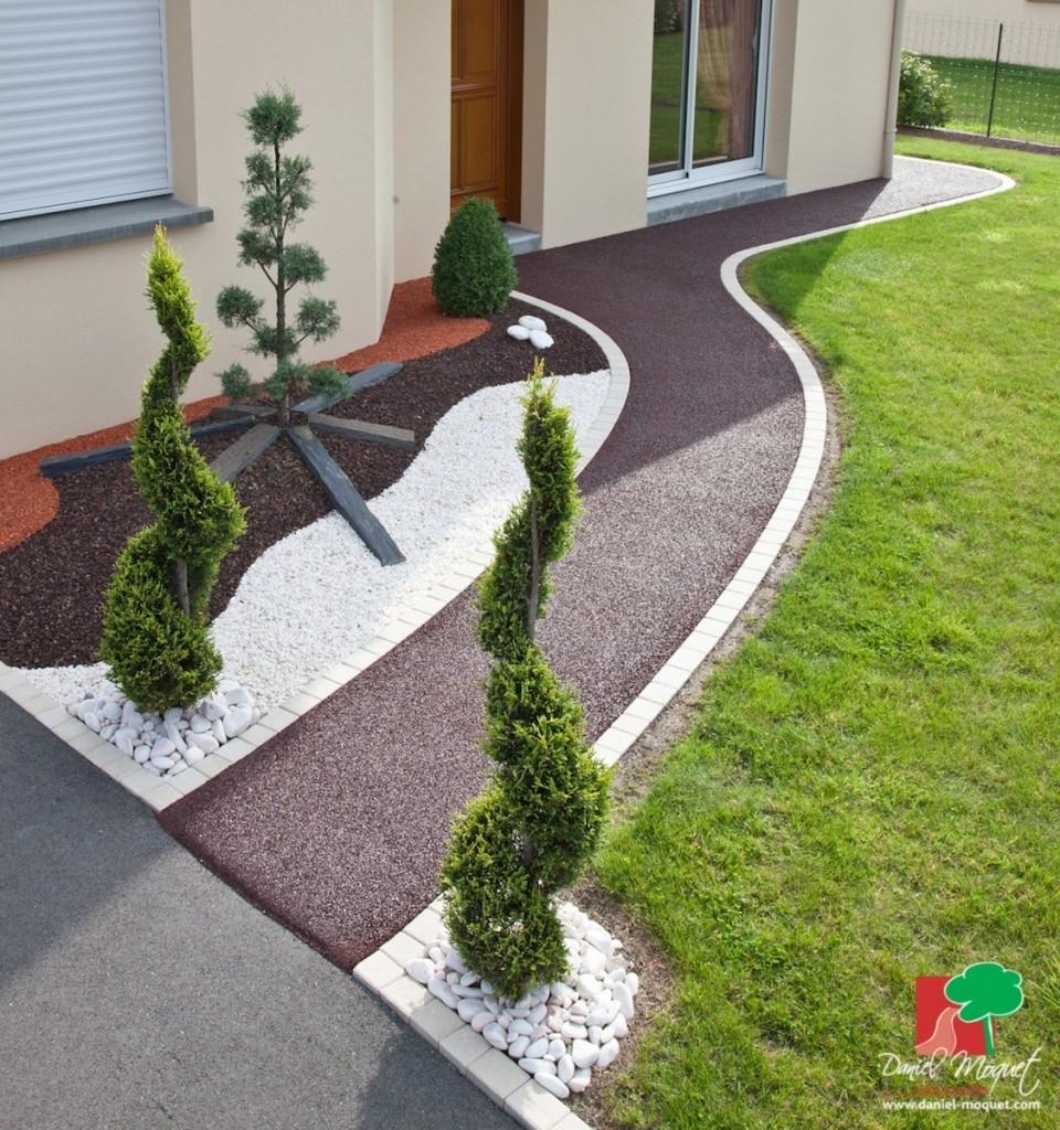 amenagement jardin moquet