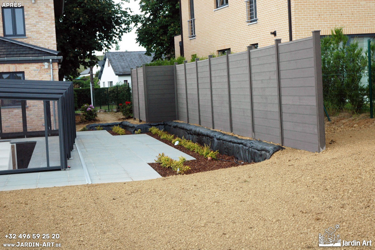amenagement jardin nouvelle construction
