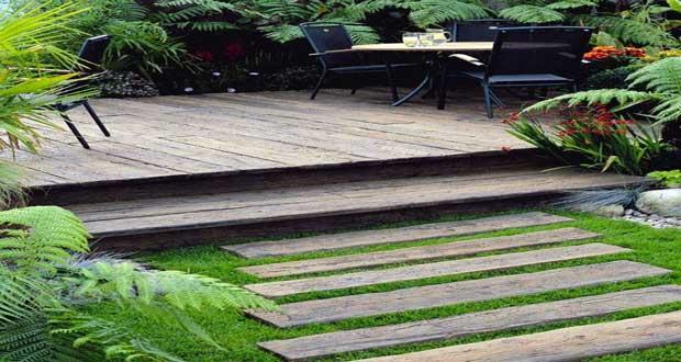 amenagement jardin palette