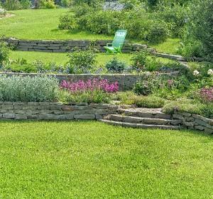 amenagement jardin pente