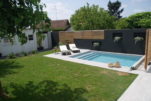 Amenagement jardin piscine - Piscine jardin ...
