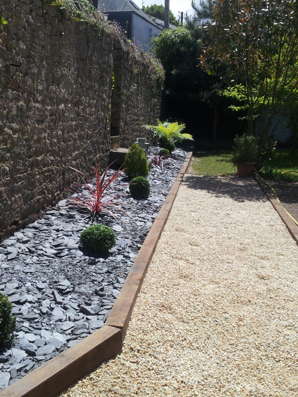 amenagement jardin quimper