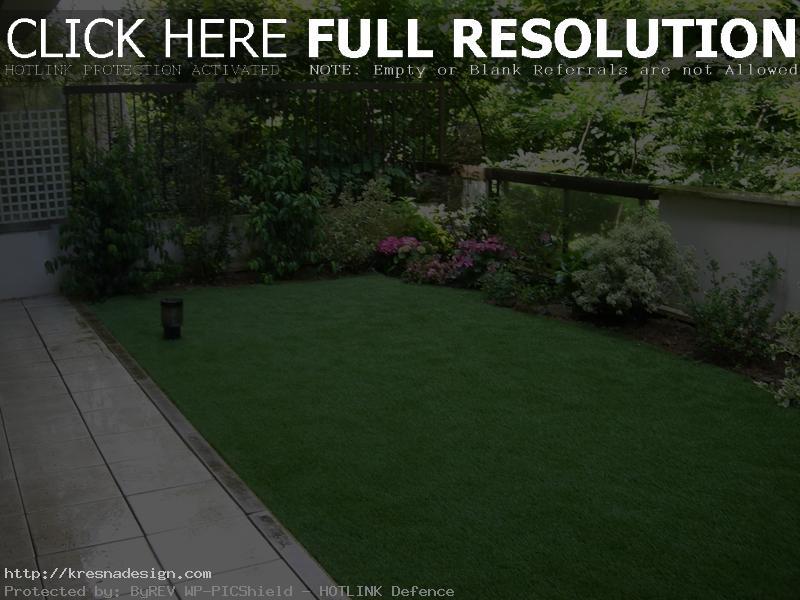 amenagement jardin rectangulaire
