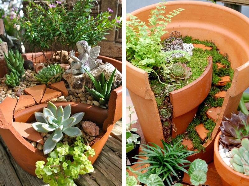 amenagement jardin recyclage