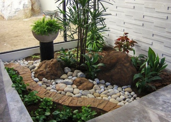 amenagement jardin rocaille