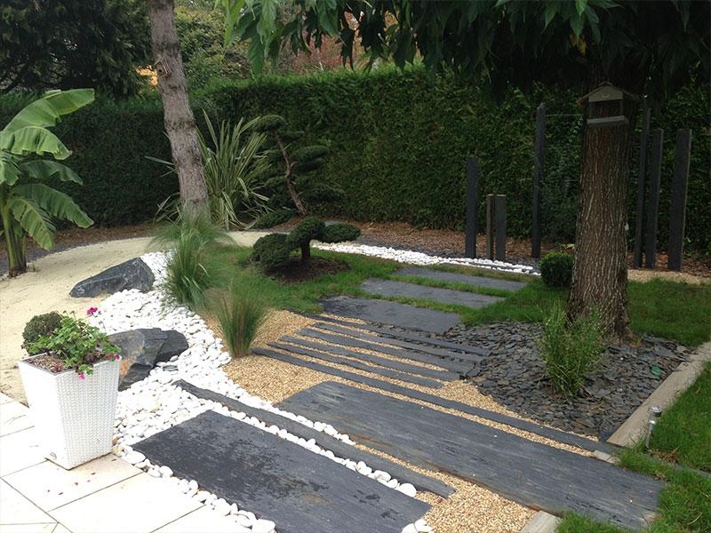 amenagement jardin route de clisson