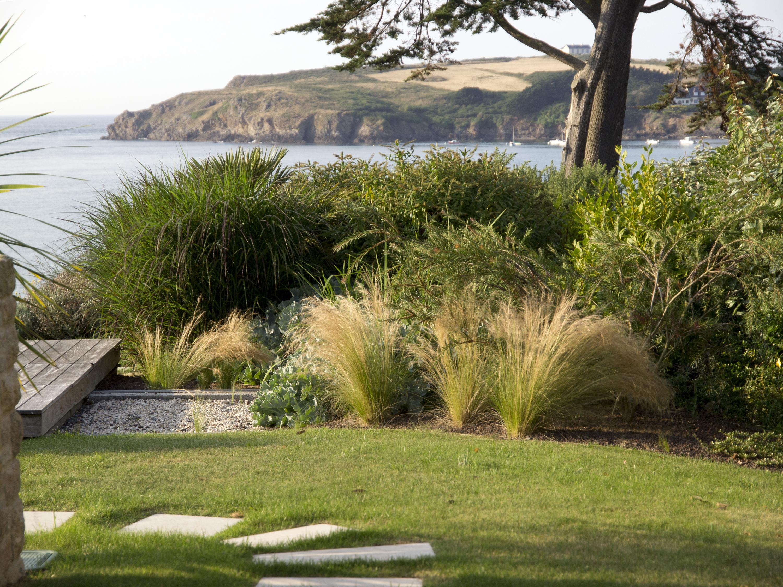 amenagement jardin sableux
