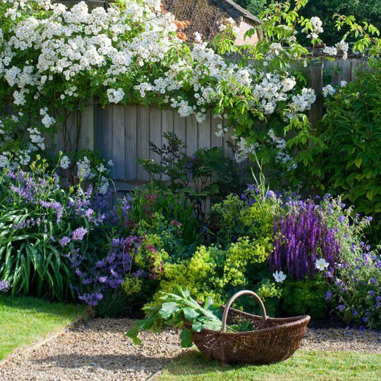 amenagement jardin style anglais