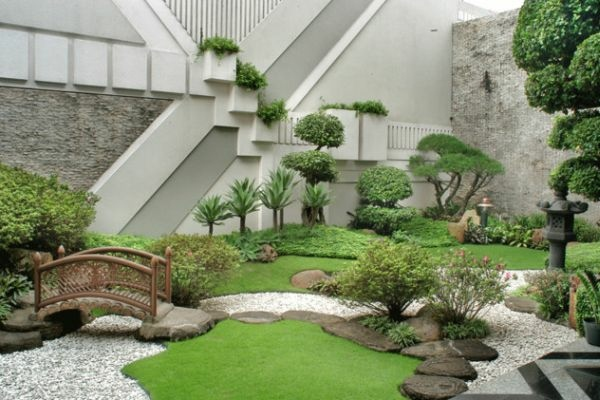 Amenagement Jardin Japonais Jardin Rectangulaire Amenagement