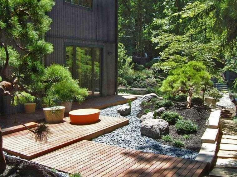 amenagement jardin style japonais