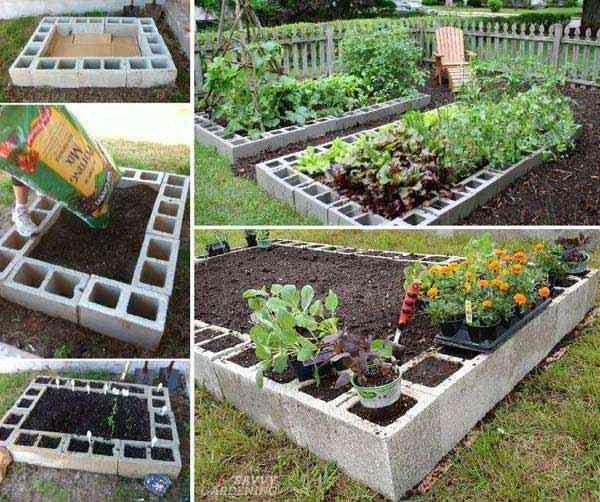 amenagement jardin sureleve